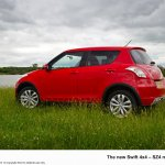 2013 Suzuki Swift 4x4 rear