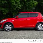 2013 Suzuki Swift 4x4 side