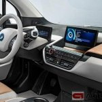 2014 BMW i3 dashboard