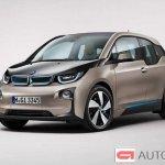 2014 BMW i3 front three quarter
