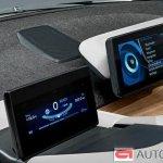 2014 BMW i3 instrument cluster