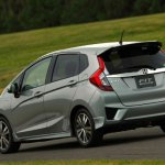 2014-Honda-Jazz-Fit-Hybrid-rear-three-quarters