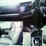 2014 Honda Jazz Fit interior angles