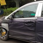 2014 Hyundai i10 spied in India front door
