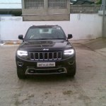 2014 Jeep Grand Cherokee spied in India