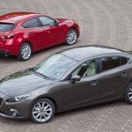 2014 Mazda3 Sedan and hatch