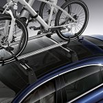 2014 Mercedes Benz S Class Accessories roof cycle stand