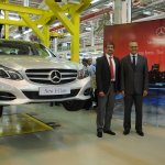 2014 Mercedes E Class CKD operation India