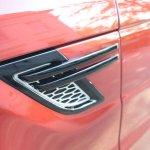 2014 Range Rover Sport air vent fender