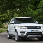 2014 Range Rover Sport driving