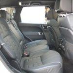 2014 Range Rover Sport rear seat