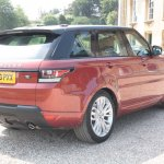 2014 Range Rover Sport rear three quarters right