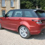 2014 Range Rover Sport rear three quarters