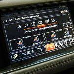 2014 Range Rover Sport terrain selection screen