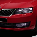 2014 Skoda Rapid optional xenon lamp