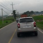 2014 Ssangyong Korando C facelift sports new taillights