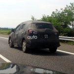 2014 Suzuki SX4 crossover spied in Italy
