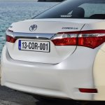 2014 Toyota Corolla European specification rear
