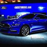 2015 Mustang render