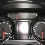 Audi RS 5 instrument binnacle