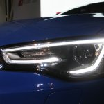 Audi RS 5 launch headlamp