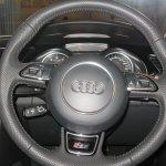 Audi RS 5 steering wheel