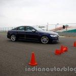 Audi S6 hard braking