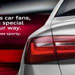 Audi S6 teaser Audi India
