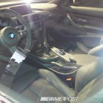 BMW 4 Series M Performance Parts interior