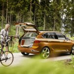 BMW Concept Active Tourer Outdoor cycle holder