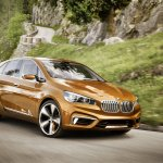 BMW Concept Active Tourer Outdoor front three quarter