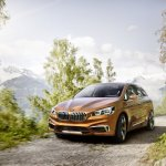 BMW Concept Active Tourer Outdoor front view