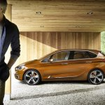 BMW Concept Active Tourer Outdoor side