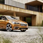 BMW Concept Active Tourer Outdoor stance