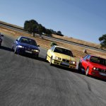 BMW M3 Coupe in action