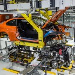 BMW M3 Coupe production