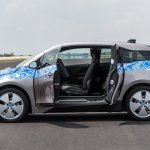 BMW i3 doors open