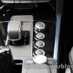 Centre console of the 2014 Mercedes E 63 AMG