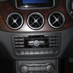 Centre console of the Mercedes B 180 CDI