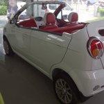 Chevrolet Spark Convertible rear