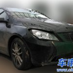 Daimler-BYD Denza EV spied in China