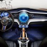 Dashboard of the MINI Vision design concept