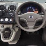 Datsun Go cockpit official image