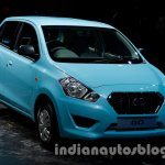 Datsun Go front three quarter angle