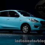 Datsun Go front three quarters