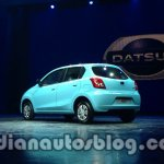 Datsun Go rear three quarter left