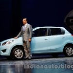Datsun Go with Mr. Carlos Ghosn