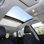 Double sunroof of the 2014 Suzuki SX4 S-Cross