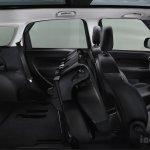Fiat 500L Living cargo space