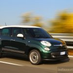 Fiat 500L Living front three quarter